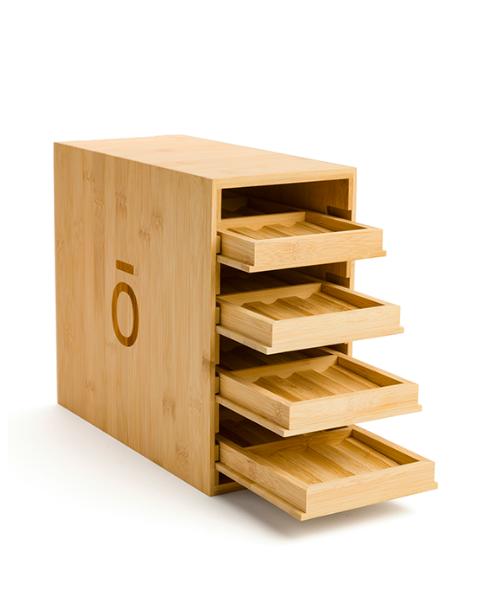 Bamboo oil cabinet box doterra essential oils ireland