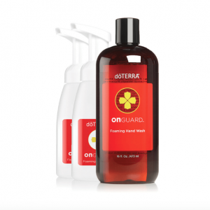 dōTERRA On Guard® Foaming Hand Wash with 2 Dispenser